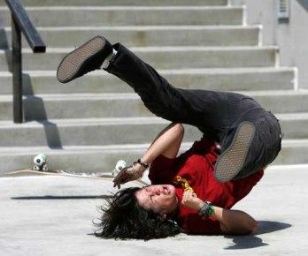 Skater-falling